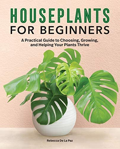 House Plants for beginners: A practical guide to choosing, growing, and Helping your plants Thrive by Rebecca De La Paz.